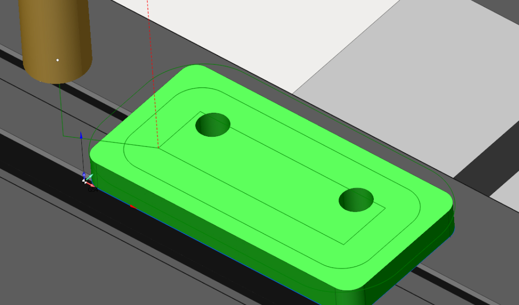 Eisy Sketch based machining in CAD CAM system