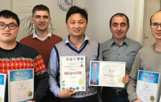 Official Chinese partner visit SprutCAM headquarters for training