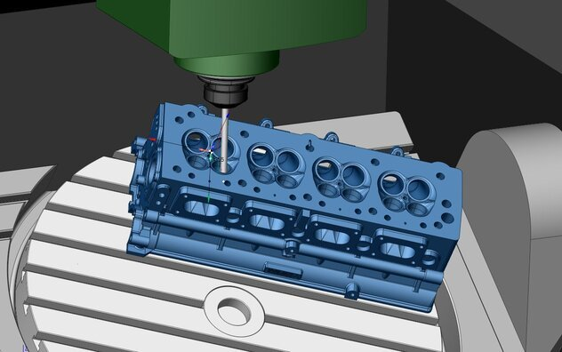 CAM software is the engeneering software used by CNC machinists and industrial robots programmers-min