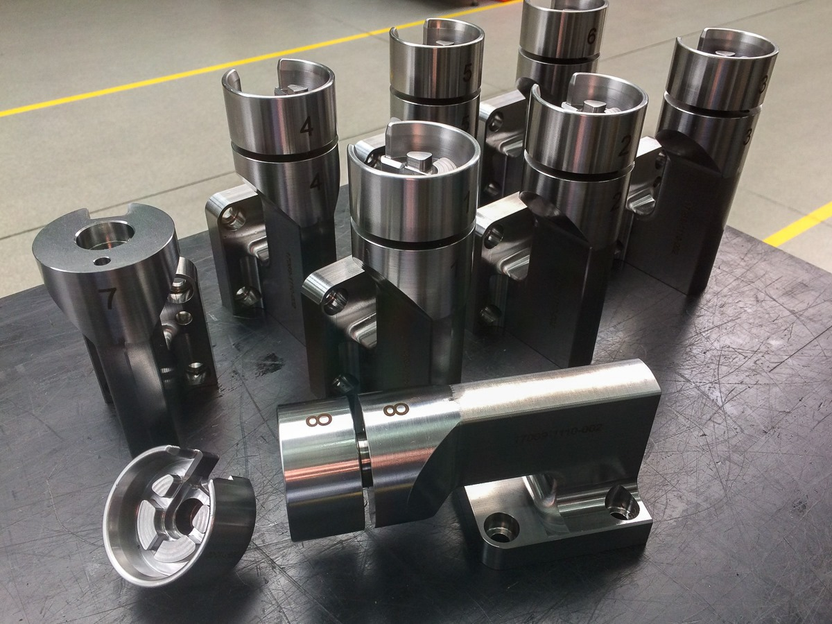 5-axis milling by Hermle C 400