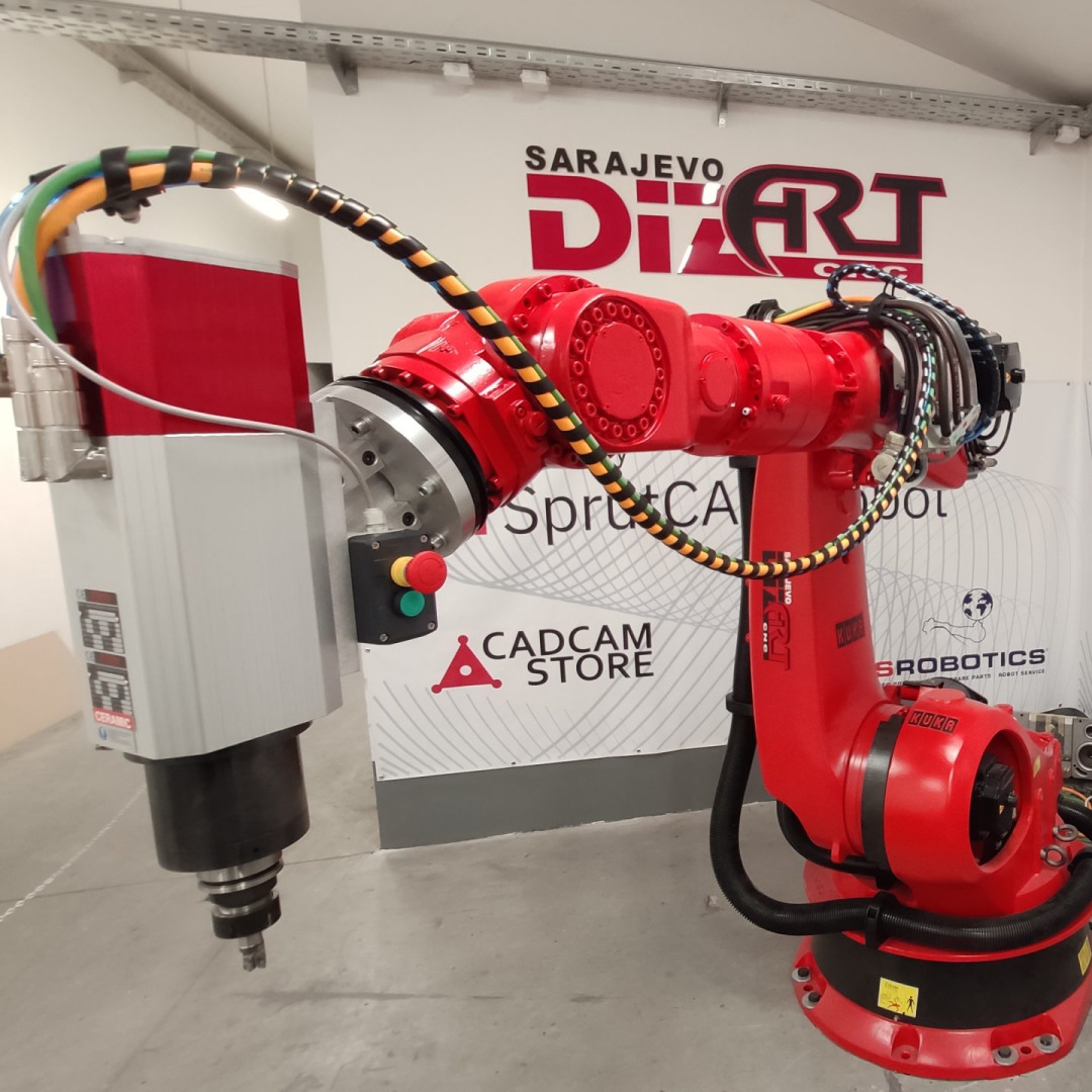 Robots for 3D sculpting & printing