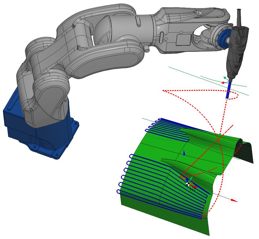 SprutCAM Robot Milling