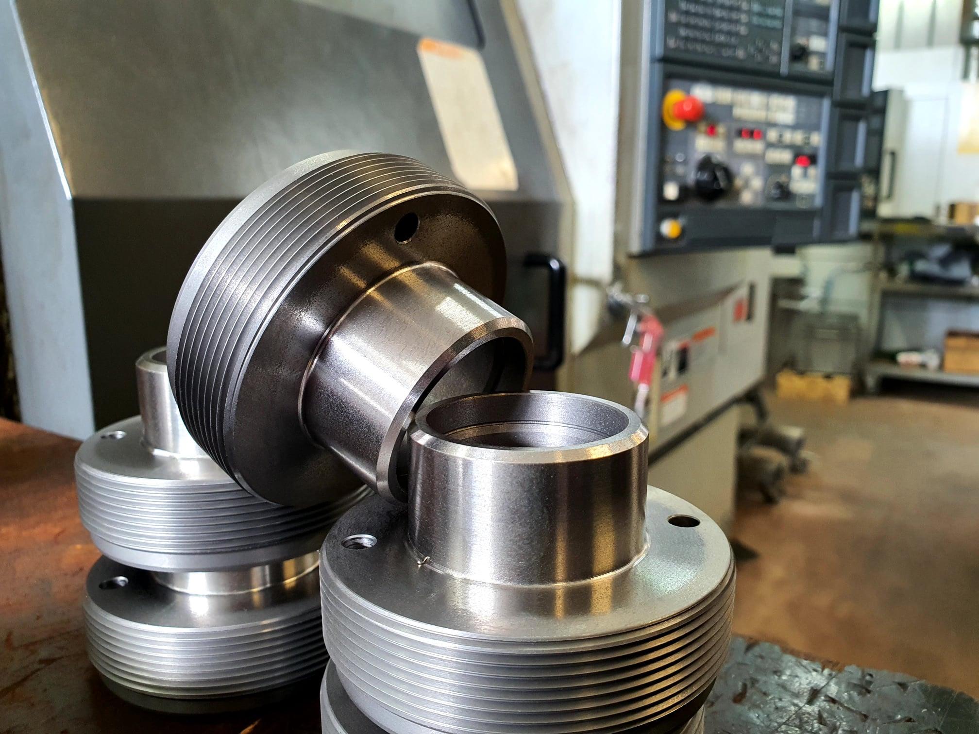 lathe machining Krokk 4