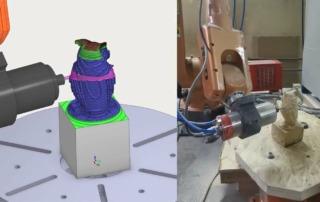 GSK RH06 robot milling