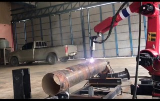 robot tube cutting