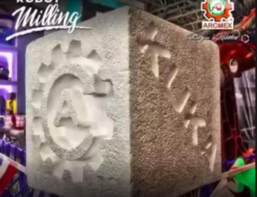 KUKA Robot milling by ARCMEX