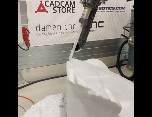 Morph machining by SprutCAM Robot