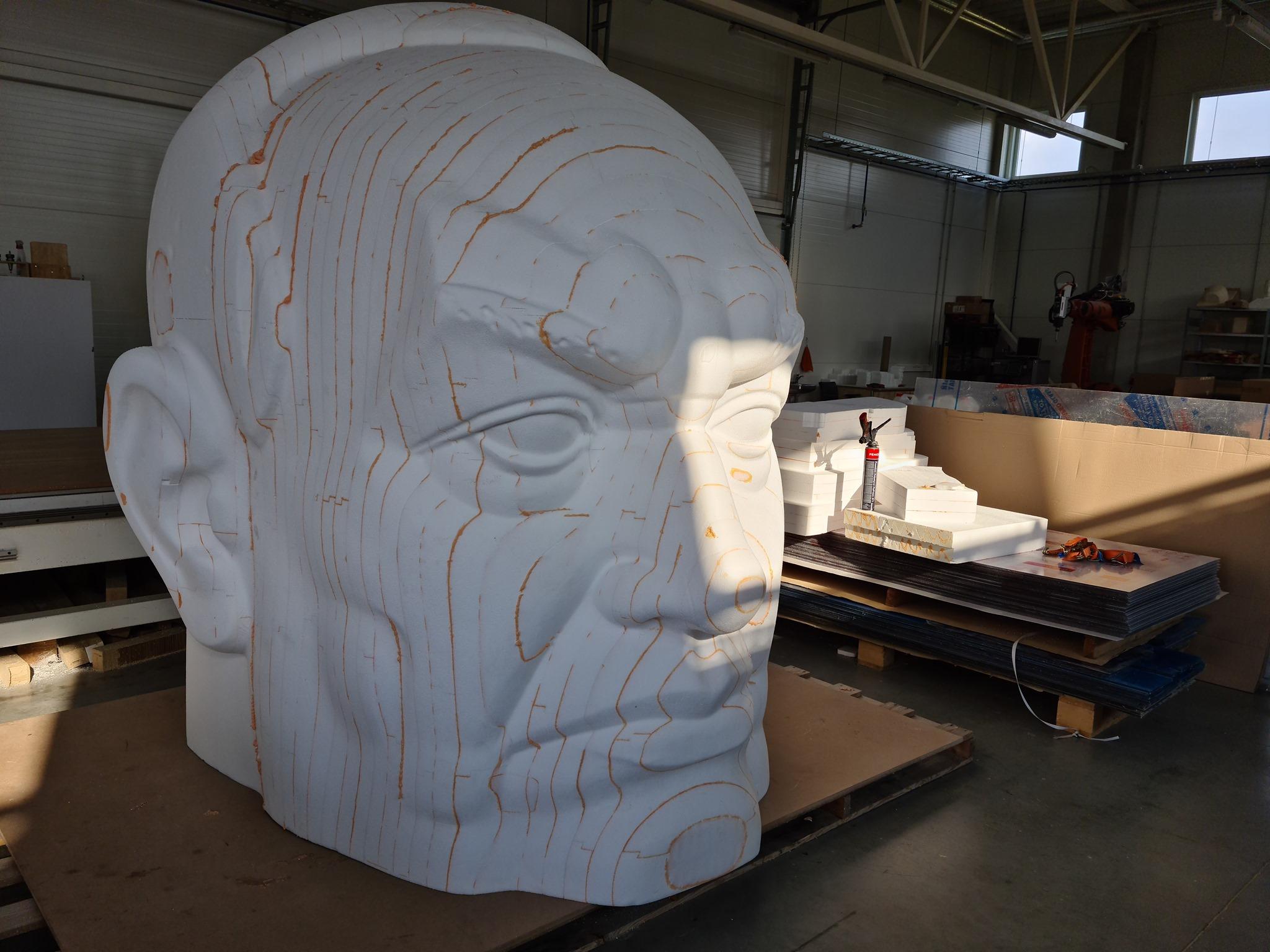 Huge EPS head