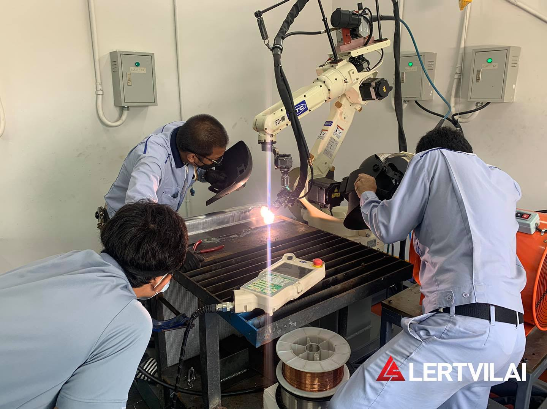 aluminum robot welding