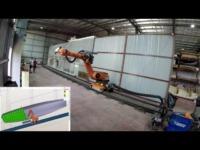 robot painting simulation