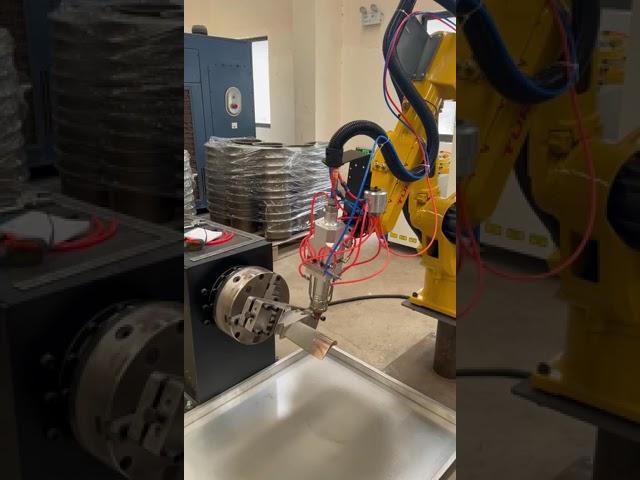 7-axis robot cladding