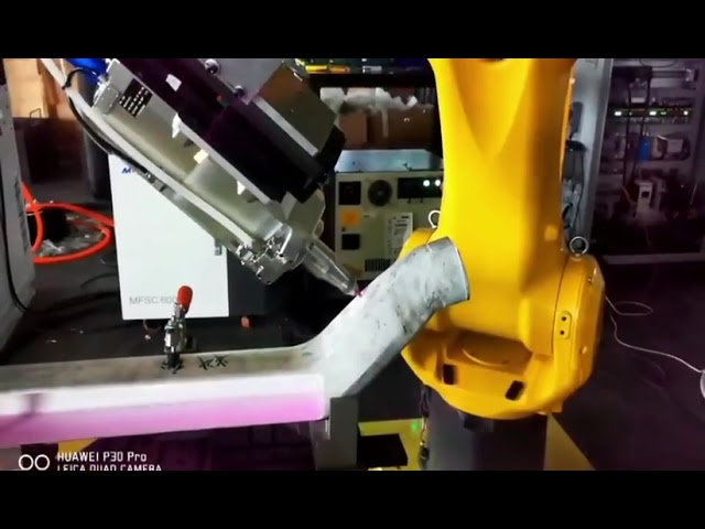 8-axis robot cutting