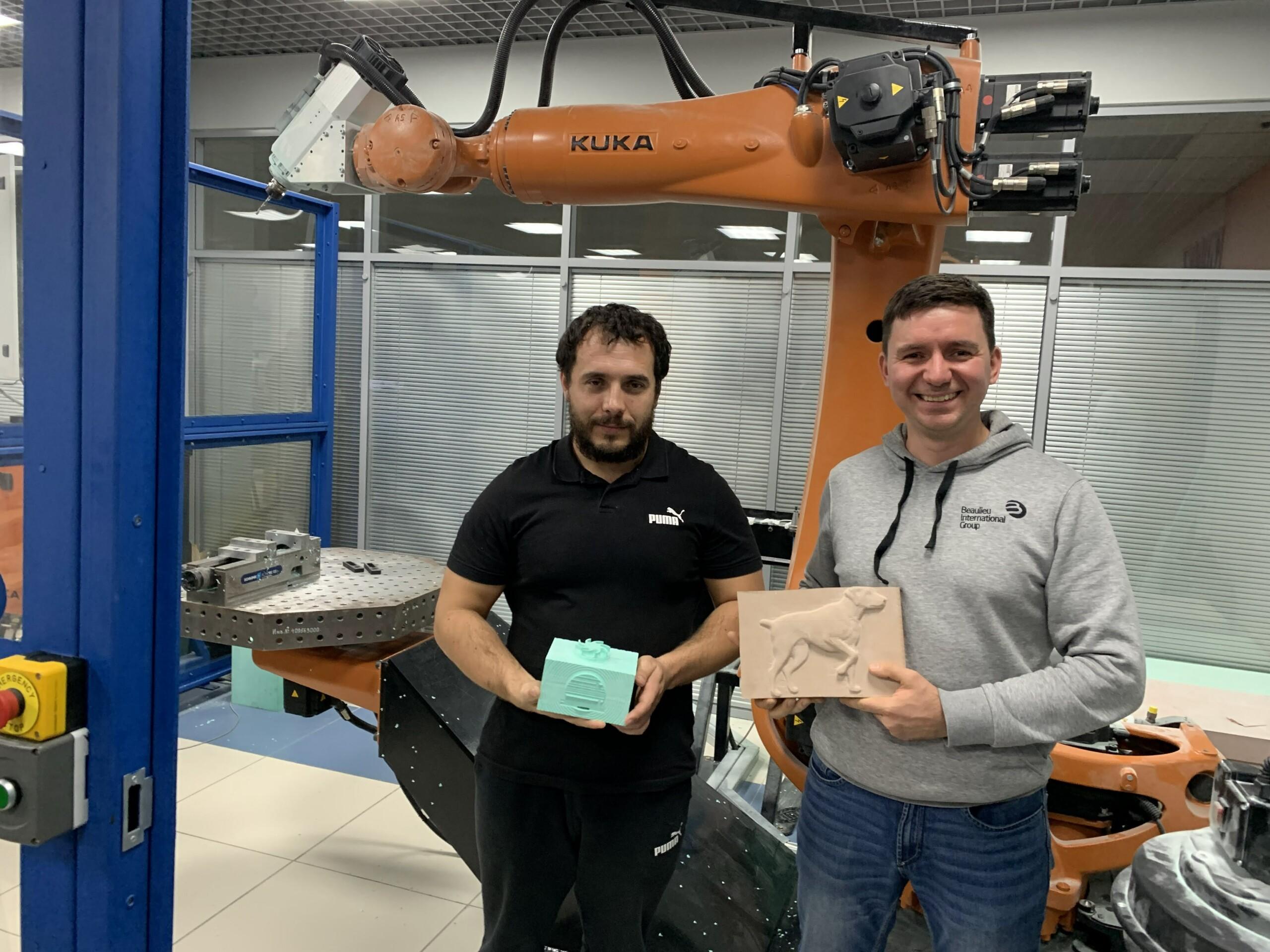 Обучение SprutCAM Robot